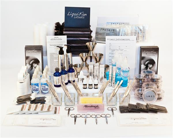The Lush Collection (LARGE KIT RECOMMENDED FOR THE TRAINING OF 6(PLUS) ARTISTS) 140-145 FULL SET APPLICATIONS