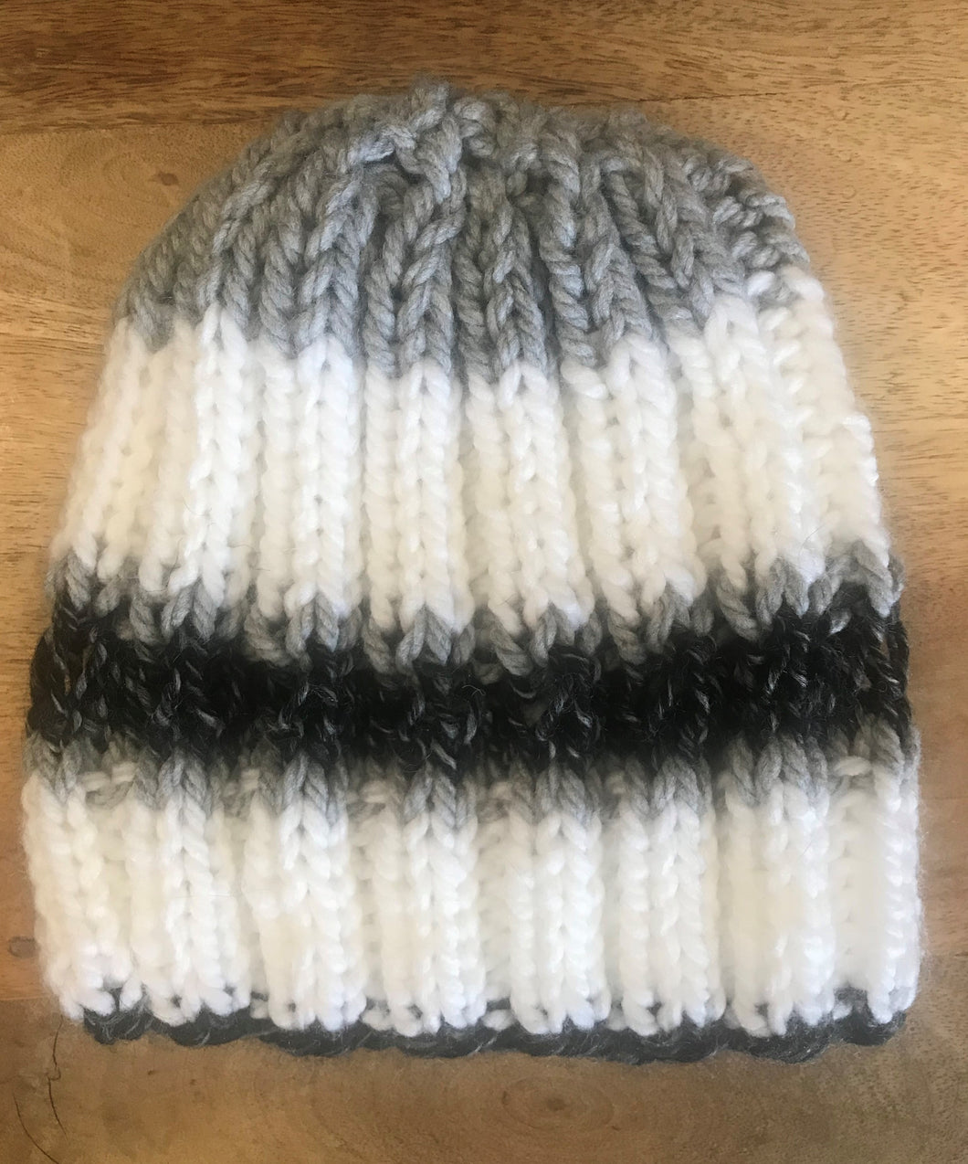 Hand-knit Winter Hat
