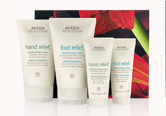 Hand Relief and Foot Relief Moisturizing Cremes
