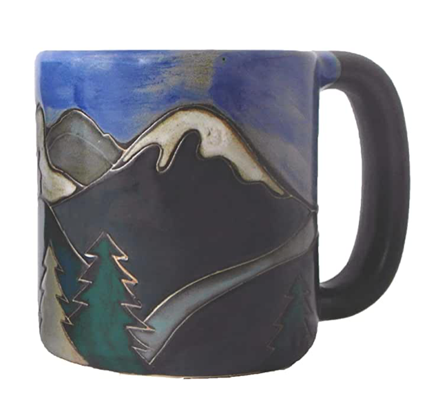 Mara Mug 16oz-snowy mountains
