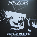 Razor - Armed and Dangerous 35th Anniversary Edition LP