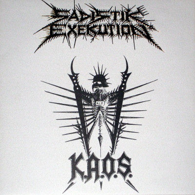 Sadistik Exekution - K.A.O.S. Picture LP