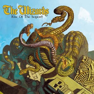 The Wizards - Rise Of The Serpent LP