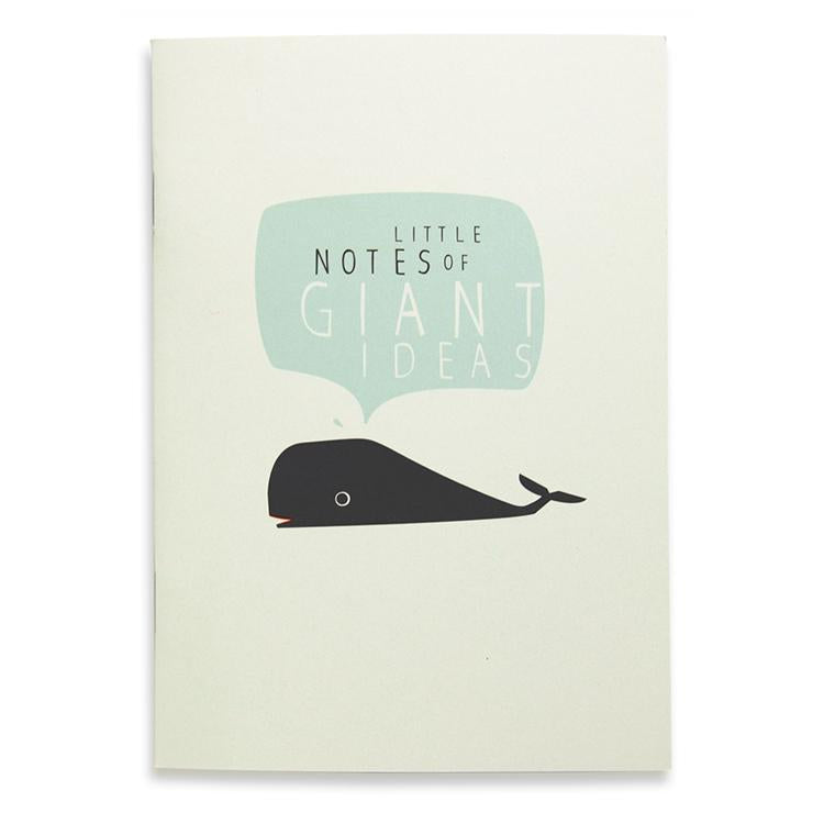 Little Notes Notizbuch A6, blanko