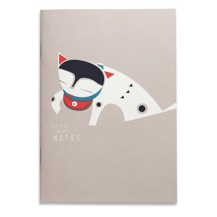 Secret Lucky Notes notebook A6, blank