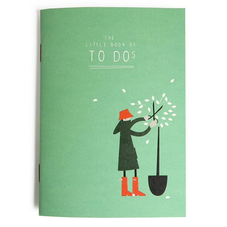 The little book of to do's Notizbuch A6, tabeliert