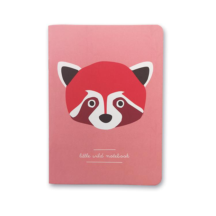 Red Panda Notizbuch A6, blanko