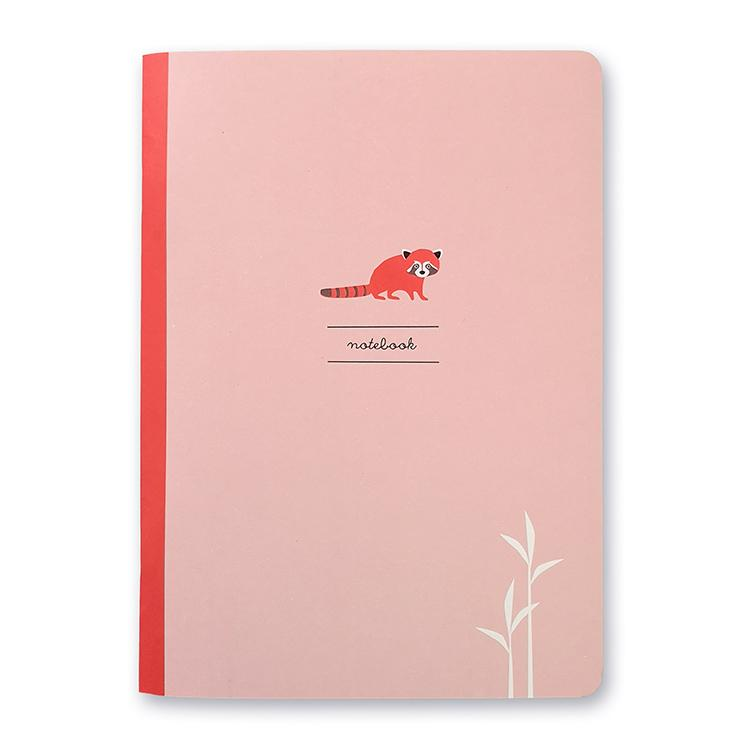 Red Panda Notizbuch A5, blanko
