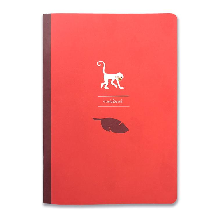 Spider Monkey Notizbuch A5, blanko