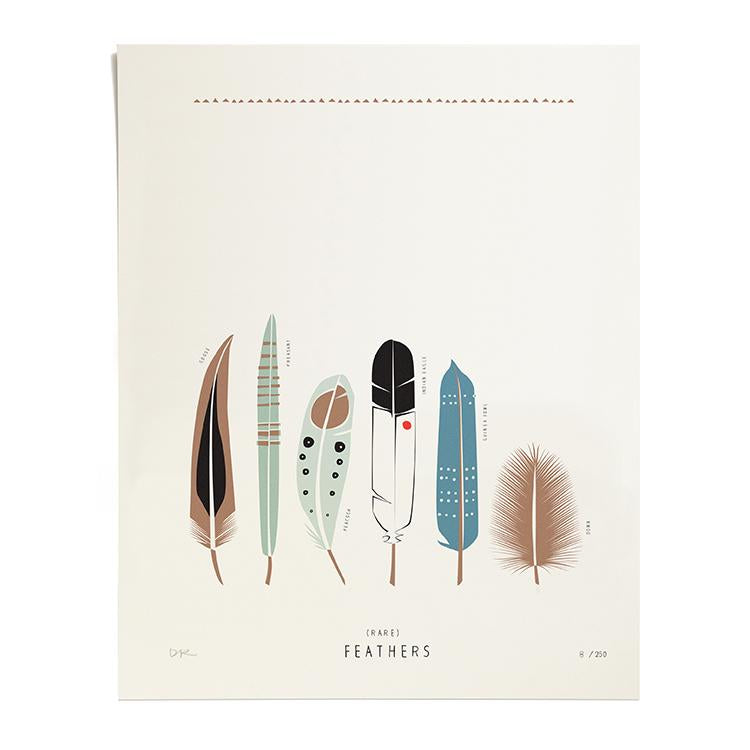 Rare Feathers, Druck, ltd. 250