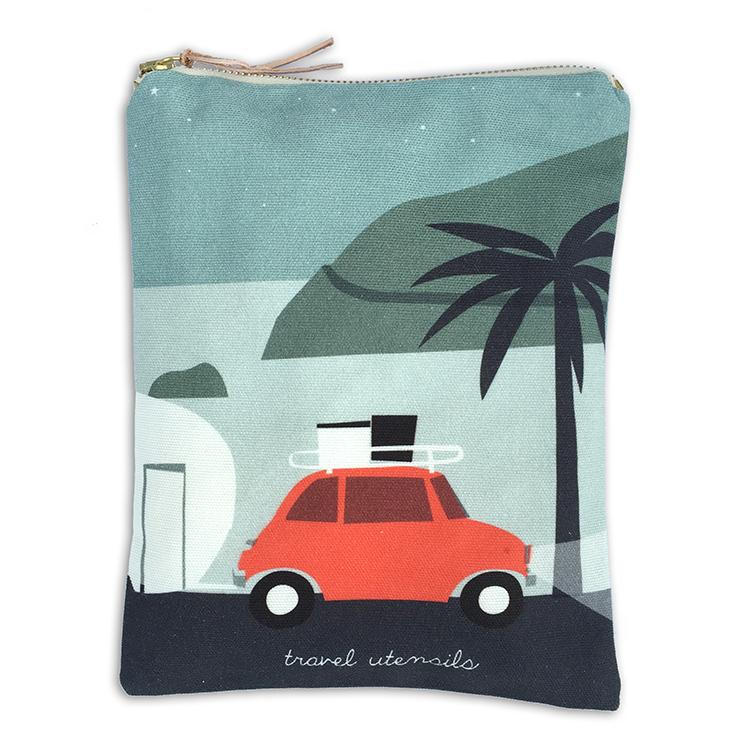 Summer Travel Pouch