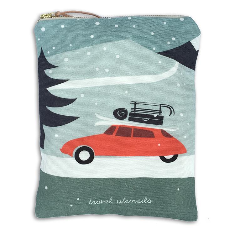 Winter Travel Pouch