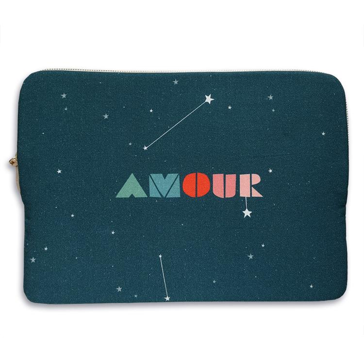 "Amour, 13"" Laptop Sleeve"