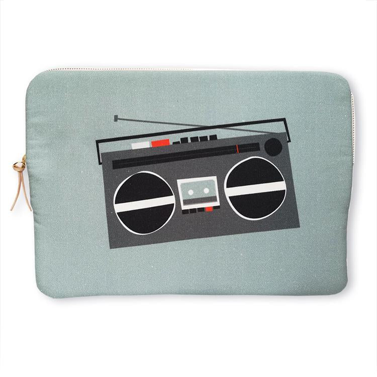 "Boom Box, 13"" Laptop Sleeve"