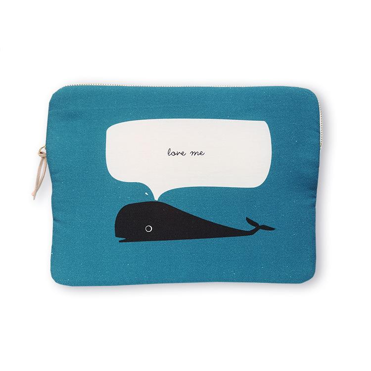 "Whale, 10 ""ipad sleeve"