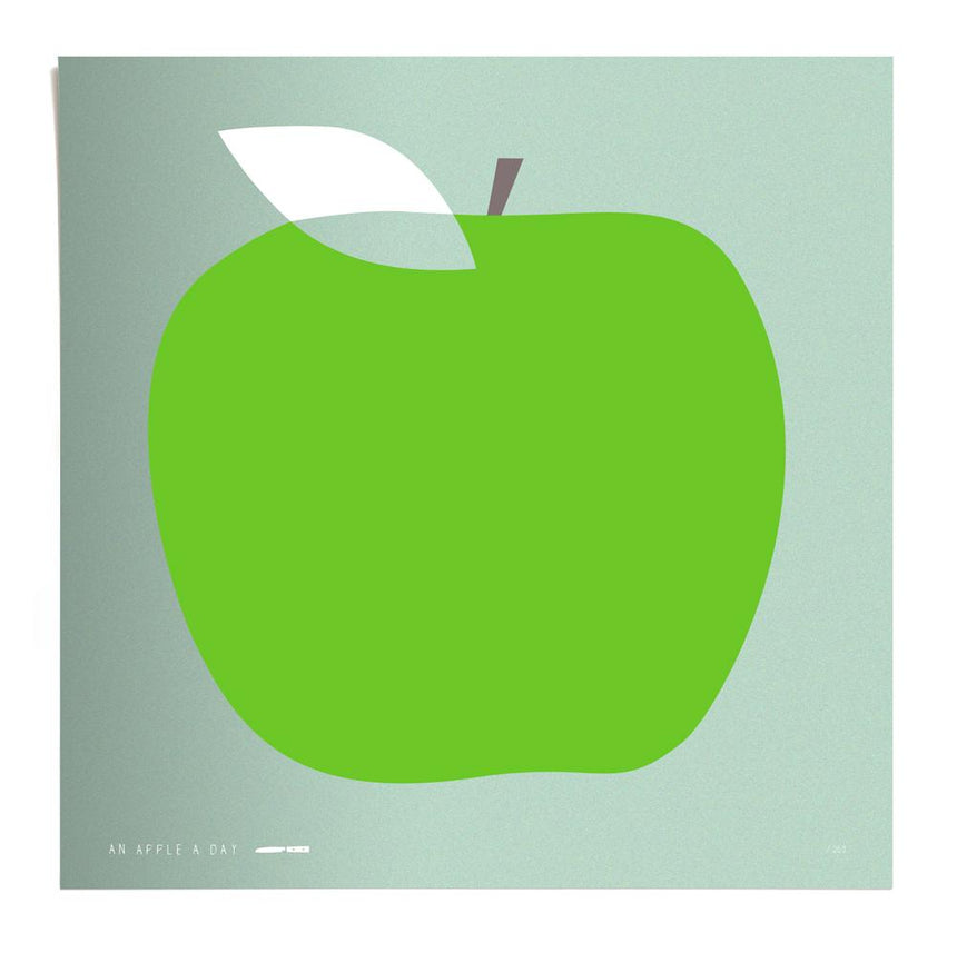 Apple, silkscreen printing, ltd. 250
