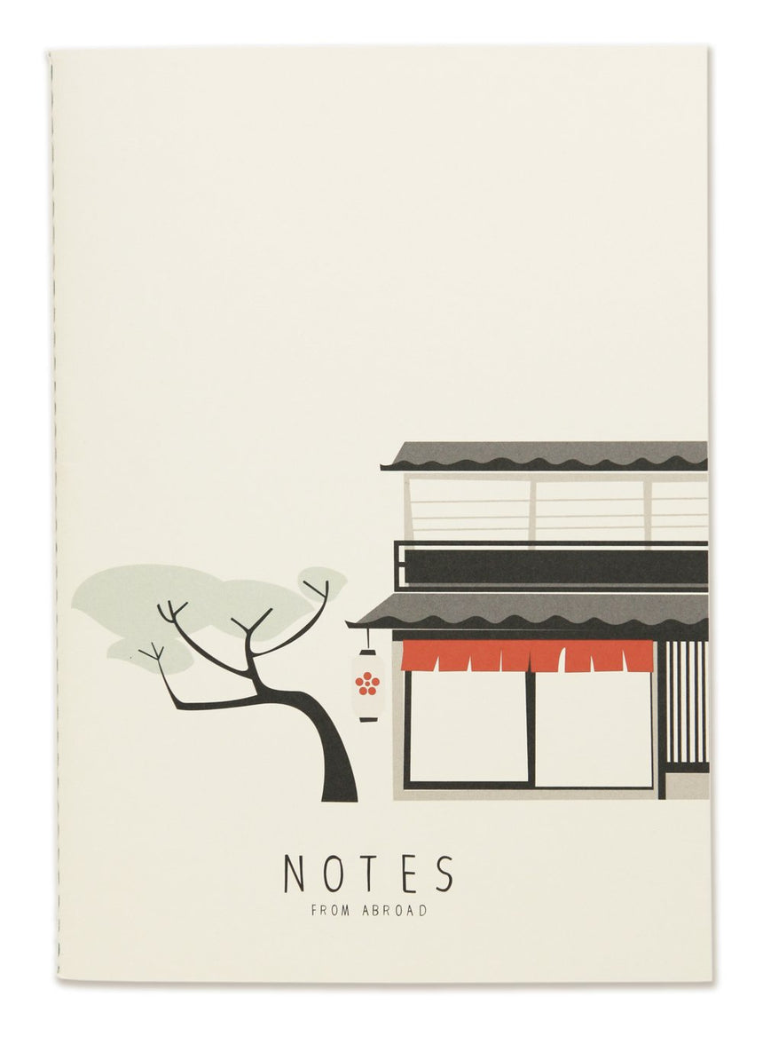 Notes from Abroad Notizbuch A5, blanko