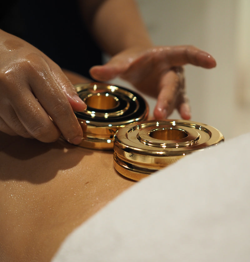 Body Massage with Gold Stone Therapy