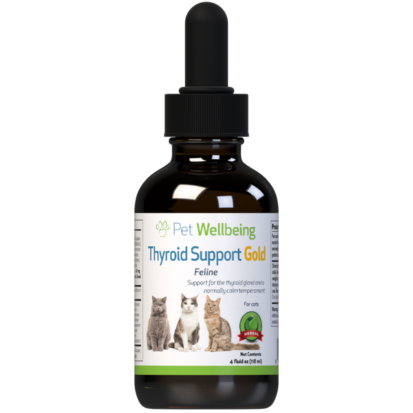 Thyroid Support Gold for Cat Hyperthyroid supports Thyroid Gland health