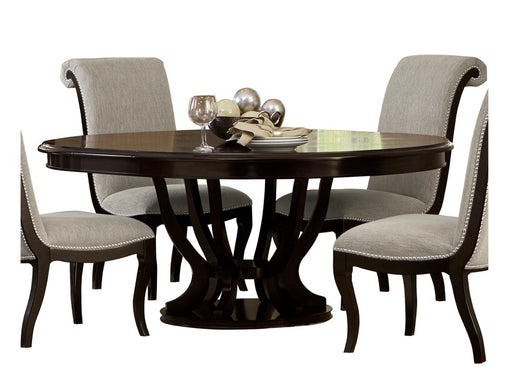 Homelegance Savion Round/Oval Dining Table in Espresso 5494-76* image