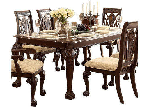 Homelegance Norwich Dining Table in Dark Cherry 5055-82 image
