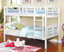 Cassie White Twin/Twin Bunk Bed image