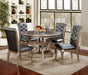 Amina Champagne 5 Pc. Round Dining Table Set image