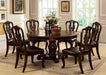 Bellagio Brown Cherry Round Dining Table image
