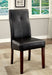 BONNEVILLE I Brown Cherry/Black Side Chair (2/CTN) image
