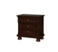 Castor Brown Cherry Night Stand image
