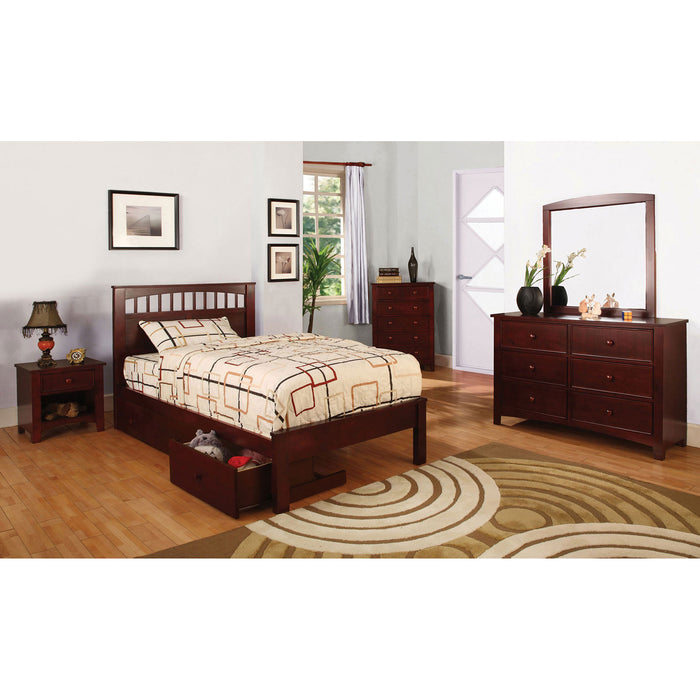 Carus Cherry 4 Pc. Full Bedroom Set image