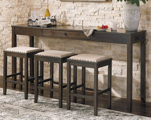Rokane Signature Design by Ashley Counter Height Table Set of 4 image