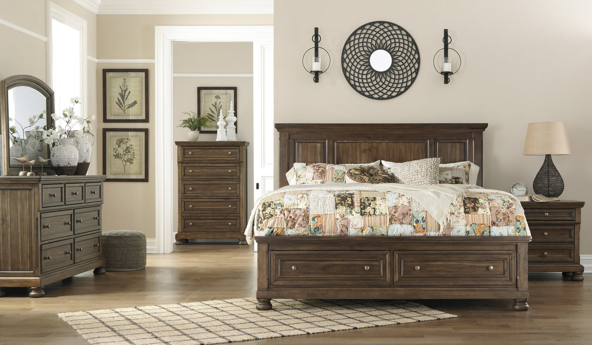 Flynnter Signature Design 5-Piece Bedroom Set with 2 Storage Drawers image