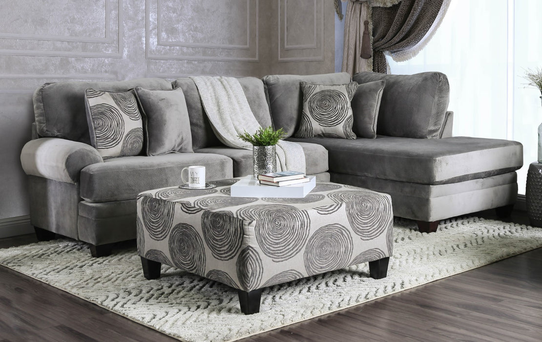 Bonaventura Gray Sectional image