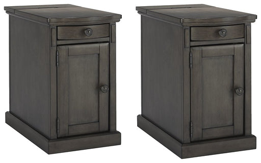 Laflorn Gray Signature Design 2-Piece End Table Set image