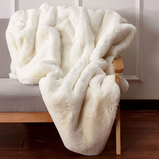 Caparica Off White Throw, Off White image
