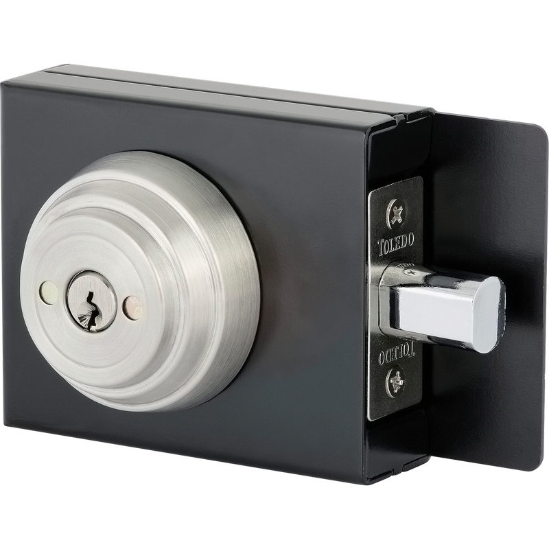 Concealed Screw Deadbolt W/Metal Box