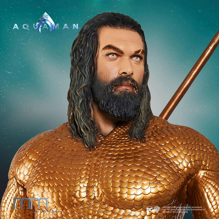 Lifesize Figure Aquaman Portrait