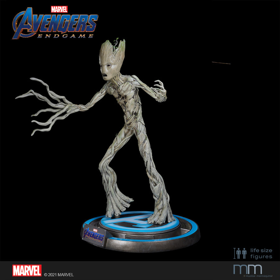 GROOT TEENAGER with large base