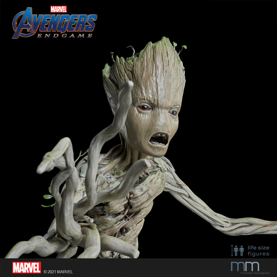 Life-Size Statue Groot Teenage Endgame