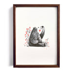 Berries for Breakfast ~ A4 Art Print - Miss Powell Prints