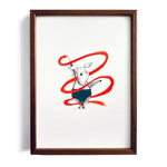 Pignastics No.2 ~ A4 Art Print - Miss Powell Prints
