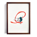 Pignastics No.3 ~ A4 Art Print - Miss Powell Prints