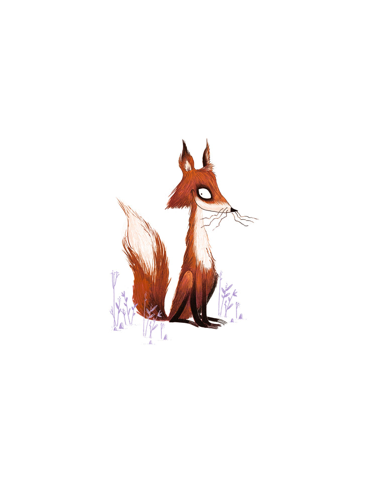 Load image into Gallery viewer, Sly Fox ~ A4 Art Print - Miss Powell Prints