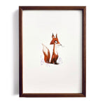 Sly Fox ~ A4 Art Print - Miss Powell Prints