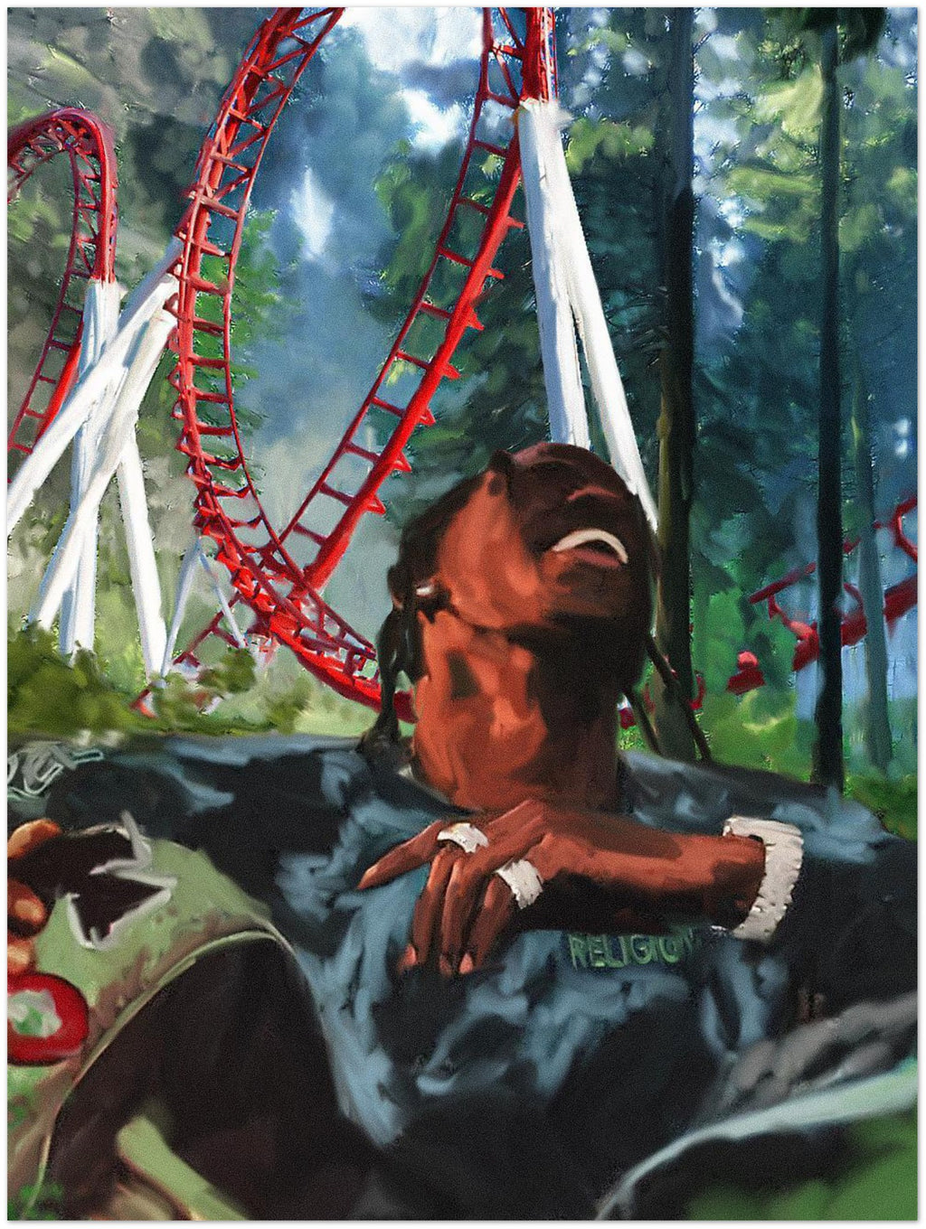 "Travis Scott ""Astroworld"" Poster"