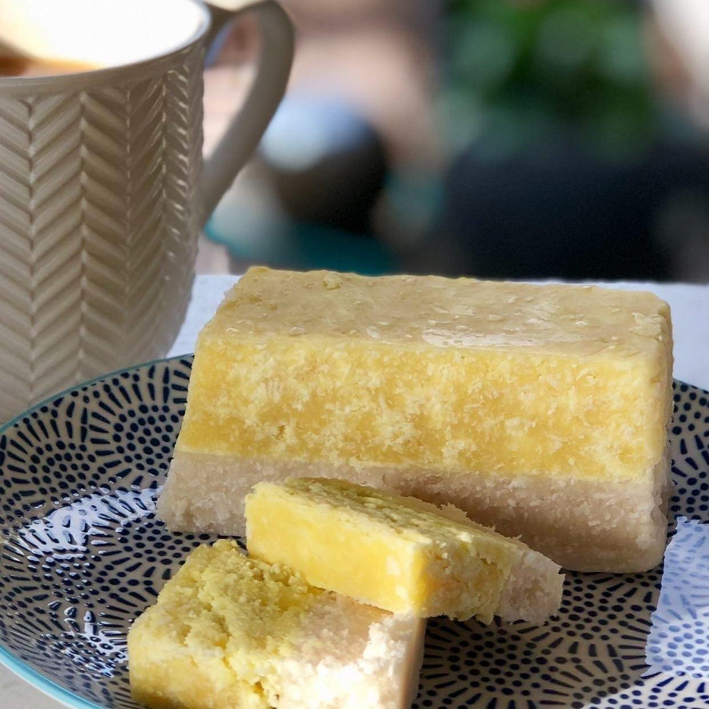 Lemon Coconut Ice - The Copper Pan Fudge Company