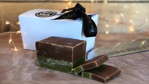 Mint Chocolate Fudge - The Copper Pan Fudge Company