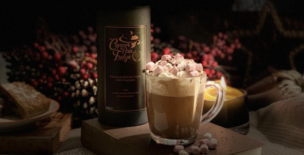Luxury Fudge Hot Chocolate - The Copper Pan Fudge Company