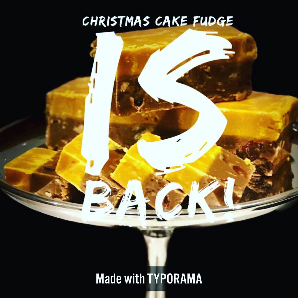 Christmas Cake Fudge - The Copper Pan Fudge Company